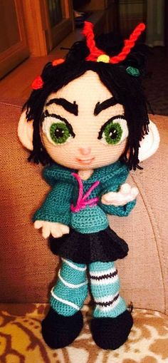 crochet Vanellope
