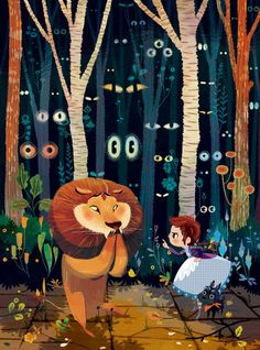 çizgili masallar: The Wonderful Wizard Of Oz by Lorena Alvarez
