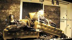 """Wolford """"Sensational Glamorous Time"""" Holiday Window Display by Hank van Boekel"""