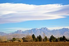 The Organ Mountains, Las Cruces, NM