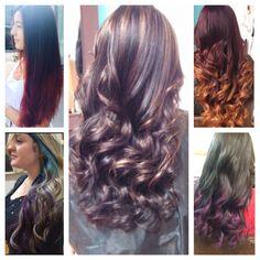 Ombre hair-Bella vie salon