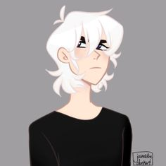 Fun fact: Original version of Keith was gonna have white hair