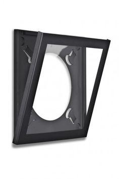 art vinyl play & display flip frame for lp records