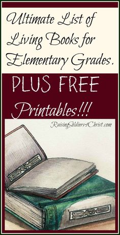 Ultimate List of Living Books-Elementary-Graphic
