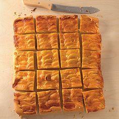 Apfelkuchen mit Karamellcreme