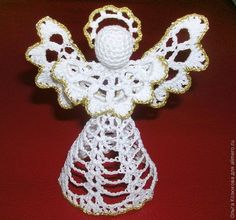 If you love knit and crochet patterns, this is a great Christmas craft idea for you. Try making this gorgeous Christmas angel, though you might need to use Google Translate to make sense of the instructions. christmas crafts, christmas decorations, christmas angels, crochet craft, christma angel, crochet patterns, christma craft, craft ideas, crochet angel ornament pattern