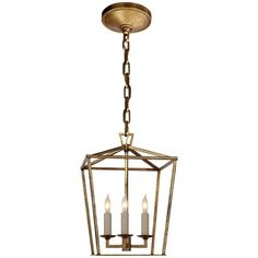 Visual Comfort Lighting E.F. Chapman Darlana 3 Light Foyer Pendant