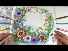 (21) WORLD OF FLOWERS - Part 2 | BLUR BACKGROUND Coloring - YouTube Chris Cheng, Coloring Tips, Adult Coloring, Coloring Books, Enchanted Forest Coloring Book, Secret Garden Colouring, Blurred Background, Coloring Tutorial, Johanna Basford Secret Garden