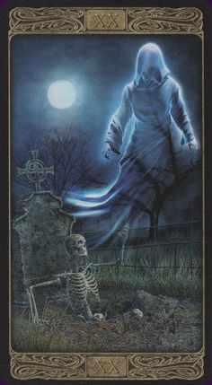 Ghost Tarot by Davide Corsi is published by Lo Scarabeo, which means there is only a little white book with this deck. Anubis, Love Tarot, Tarot Major Arcana, Oracle Tarot, Tarot Card Decks, Tarot Spreads, Tarot Readers, Gothic Art, Magick