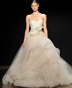 Lazaro Fall 2014 Wedding Dresses | TheKnot.com