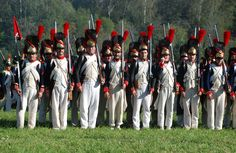 Duchy of Warsaw Grenadiers.  Click on image to ENLARGE.
