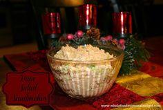 Whole Food Mom on a Budget: Ham Salad Sandwiches -- Christmas leftovers!