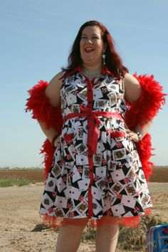 From the Sew Weekly blog, I just love this woman!