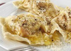 Roasted Pumpkin & Ricotta Ravioli