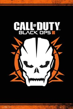 Call Of Duty Black Ops 3 Skull Poster  f6ca7c868c28