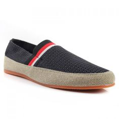 Fashionable Weaving and Color Block Design Loafers For Men
