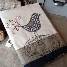 Fancy Bird Journal by evie lala