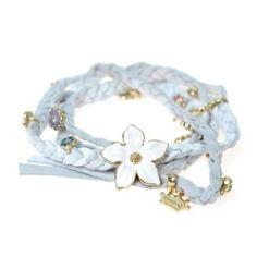 Disney Couture Jewelry - Bambi White Leather Wrap...