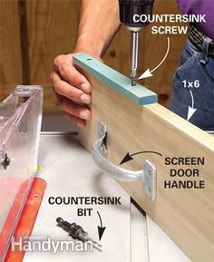 We'll show you handy tips and techniques for using your table saw. Use these accessories to help you make clean, straight and safe cuts on your next woodworking project. You'll be able to cut extra long, extra wide and extra thick wood without any problems.
