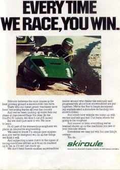 z skiroulesp ad Mean Machine, Gilles Villeneuve, Snowmobiles, Atv, Fun Stuff, Racing, Bike, Classic, Vintage