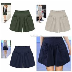 Plus Size Women Fashion Loose Short Pants Summer Casual Hot Shorts Sports Pants