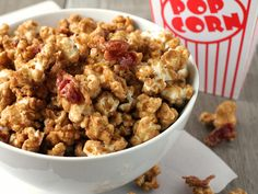 Make and share this Bacon Bourbon Caramel Popcorn recipe from Food.com.