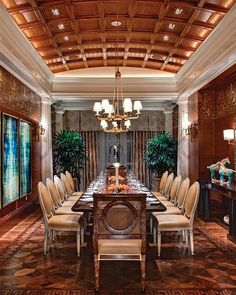 Parquet wood floors from a Caesar's Palace suite. Flooring produced by Parquet by Dian. Parquet Flooring, Flooring Ideas, Floors, Caesars Palace, Floor Patterns, Las Vegas, Dining Table, Greek Key, Hotels