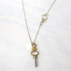 Chronos Necklace Sterling Chain now featured on Fab.