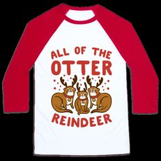 #otters #reindeer #christmasshirt #christmaspresent #christmasgift