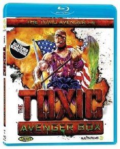 The toxic #avenger 1-4 #avenger box #remastered blu-ray english #spoken,  View more on the LINK: 	http://www.zeppy.io/product/gb/2/361576946386/