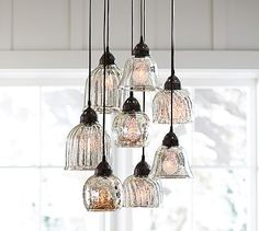 Kenzie Mercury Chandelier  Amazing for the kitchen over the island.  Prettiest I've ever seen  $399