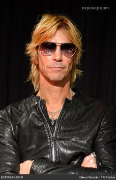 Duff McKagan - seen around town lots - he's an ok guy...