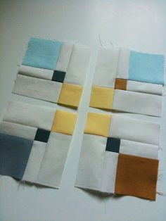 A Few Scraps: Double disappearing nine patch