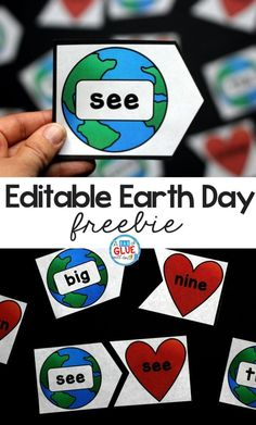 Earth Day Editable Puzzles - A Dab of Glue Will Do #earthday #learning #teaching #primaryeducation #elementaryeducation #teacherspayteachers #teachers #kidsactivities