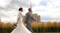 Wedding video at the Oquirrh Mountain LDS Temple.