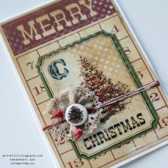 Мастер-класс по созданию новогодней скрап-открытки от Екатерины Стрелковой