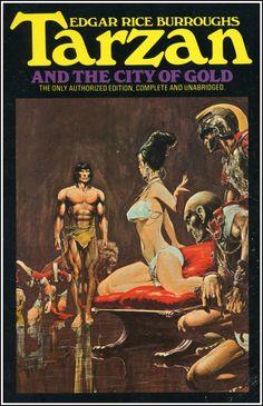 damsellover: Neal Adams cover for Tarzan