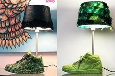 LuminAir Sneaker Lamps
