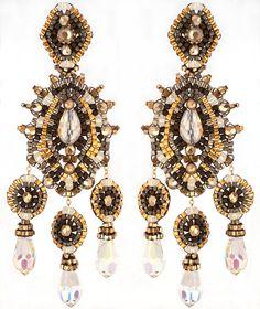 Swarovski e oro cristallo Swarovski istruzione di OhlalaJewelry