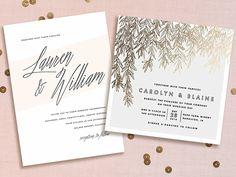 Minted's 2015 wedding invitation line