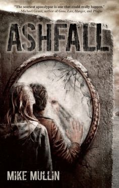 Ashfall by Mike Mullin; Easy, light young adult read. After the eruption of the Yellowstone supervolcano destroys his city and its surroundings, fifteen-year-old Alex must journey from Cedar Falls, Iowa, to Illinois to find his parents and sister, trying to survive in a transformed landscape and a new society in which all the old rules of living have vanished.