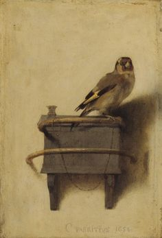Carel Fabritius (1622-1654), The goldfinch, 1654 / Mauritshuis The Hague, is on view through Sept. 29, 2013 at the High!
