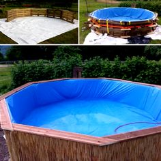 Backyard ideas - Make a pool in your backyard