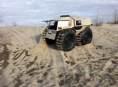 Sherp ATV tackles the sand