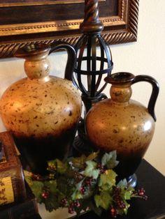 Savvy Seasons by Liz. Love the Tuscan vessels.