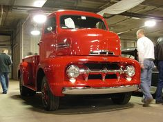 #Ford 1951 Cab Over Engine