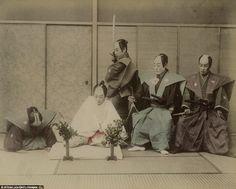 Потрясающие 130-летние фото самураев, для которых честь была важнее жизни