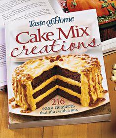 Cake Mix Creations Cookbook