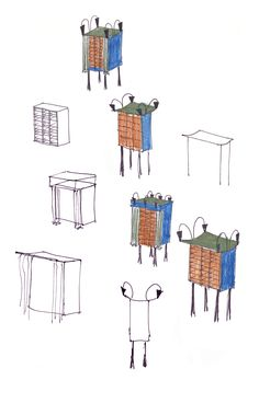 65 - Skizzen Schränkchen