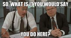 String of Pearls: Office Space memes